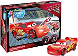 Revell- Lightning Mcqueen (Light&Sound) Cars 3 Juego de Construction de Coche, 4+ Años, Multicolor, 1:20 Escala (00860)