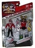 Saban's Power Rangers Super Samurai Megazord Armor With 4' Fire Ranger by Ban Dai