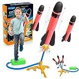 Dreamingbox Juguetes Niños 2 3 4 5 6 7 8 9 10 Años, Cohete Juguete para Niñas de 3-12 Años Regalos de Cumpleanos Niños 3 4 5 6 Años Cohete Regalos para Amigas Niño 2-10 Años Juegos Al Aire Libre