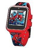 Marvel Spider-Man Reloj Inteligente Interactivo con Pantalla táctil SPD4588AZ