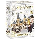 CubicFun Puzzle 3D Harry Potter Hogwarts Castillo Escuela de Brujería y Hechicería Kits de Construcción Modelo, DIY Juguetes 3D Rompecabezas Regalos para Adultos y Niños, 197 Piezas