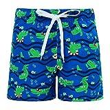 Fanient Pantalones Cortos de niño de Dinosaurio Niños de Secado rápido Troncos de baño de Verano Pantalones Cortos de Tabla de Surf