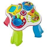 Chicco Hobbies Primeras Actividades, Mesa de Actividades Infantil Bilingüe Español/Inglés, Juego Educativo Electrónico con Luces y Sonido – Juguete para Bebés de 1 a 4 Años