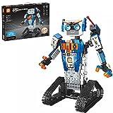 LINANNAN Buen Robot Inventor Kit de robóticos Bloques de construcción, aplicación de Juguete Interactivo programable con Control Remoto para niños, Toy Toy Compatible con Lego Robot, 447PCS