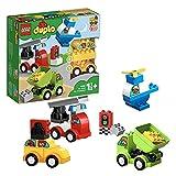 LEGO 10886 Duplo Mis Primeros Coches, Bloques de Construcción de Vehículos de Juguete para Bebés, Niños y Niñas +1,5 años