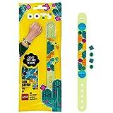 LEGO 41922 Dots Pulsera Cactus Guay, Manualidades para Niños y Niñas, Juego Creativo, Pulseras y Joyas DIY