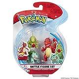 Juego de Figuras Pokemon Battle 3 – Charmeleon, Bulbasaur & Larvitar, Wicked Cool Toys, PKW0045