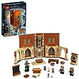 LEGO 76382 Harry Potter Momento Hogwarts: Clase de Transfiguración Libro de Juguete Coleccionable Set Portátil Estuche de Viaje