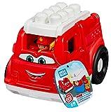 Mega Bloks Camión de Bomberos, juguete de construcción para niños + 1 año (Mattel GCX09)