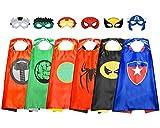 ATOPDREAM Juguetes Niños 3-12 Años, Capas Superheroes Niños Regalos para Niños de 3-10 Años Avengers Juguetes Regalos Niño 3-12 Años Cumpleaños Superheroes Juguetes para Niños de 3-12 Años