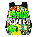 Plants vs. Zombies Mochila para niños Moda Ocio Mochila Impresión de Dibujos Animados Mochila Bolsa de Viaje Mochila Escolar (Color : A32, Size : 29 X 17 X 40cm)