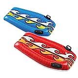 Color Baby - Tabla para surf hinchable decorada, 112 x 62 cm (58165) , Modelos/colores Surtidos, 1 Unidad