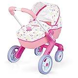 Cochecito Pop Pram de Peppa Pig para muñecos bebé (Smoby 251306) , color/modelo surtido