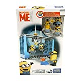 Mega Bloks - Figuras de Minion'S con Accesorios, Factory Fiasco (Dkx76)