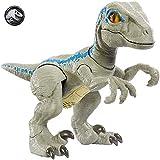 Jurassic World Baby Blue Dino Velociraptor, Dinosaurio de juguete (Mattel GFD40) , color/modelo surtido