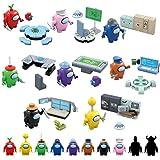 Fangteke Among Us Juguetes de Bloques de Construcción Lindas Figuras de Juegos Muñecas Bloques de Construcción Colección de Juguetes de Ensamblaje de Rompecabezas Regalo para Niños