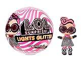 L.O.L. Surprise! Muñecas de Moda Coleccionables - con 8 Sorpresas, Modas y Accesorios - Incluye Revelado de Luz Negra - Muñeca Brillo de Luces