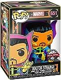 Funko- Pop Marvel Black Light Dr. Strange Juguete coleccionable, Multicolor (48848)