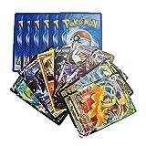 150 Cartas Pokemon Cromos Español Edición Espada y Escudo - Contienen 8 + 1 Cartas Aleatorias en Cada sobre de Tarjetas Basic - V - VMax Gigamax - Carta de Batalla - Carta Coleccionables
