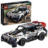LEGO Technic - Coche de Rally Top Gear Controlado por App, Coche Teledirigido de Juguete, Set de Construcción Controlado por la Aplicación Technic CONTROL+, Maqueta de Coche de Carreras (42109)