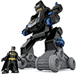 Fisher-Price Imaginext Batman, Bat-Robot transformable, juguete para niño + 3 años (Mattel DMT82)