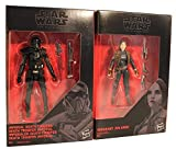 Star Wars - The Black Series 2-Pack de Figuras de acción de 9.5 cm para la película, para niños, niñas y fanáticos (Jyn ERSO und Death Trooper)