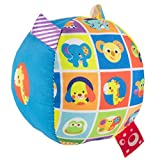 Chicco- Soft Ball Primeros Juguetes, Multicolor, pequeño (00010057000000)