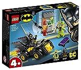 LEGO Super Heroes - Batman y el Robo de Enigma Juguete de construcción con un Batmobile para Perseguir al Supervillano, Novedad 2019 (76137)