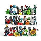 HOU&PR Plant Vs Zombie 1 Anime Figura Juguetes 3-8cm, PVZ Model Dolls Kid Toys 40pcs