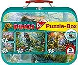 Schmidt Spiele 56495 Puzzle - Rompecabezas (Jigsaw Puzzle, Dinosaurios, 5 año(s), 360 mm, 244 mm, Caja)