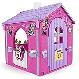 INJUSA - Casa de Juguete Minnie Mouse Color Rosa con 2 Puertas de Entrada y 2 Ventanas, Recomendada para Niños y Niñas +3 Años