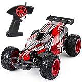 DDYX2020 1: 22-2.4Ghz-Remote Control Race Car, Coche teledirigido, Coches teledirigidos para niños de Alta Velocidad con 3 baterías, (Rojo)