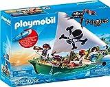 PLAYMOBIL- Pirates Figuras y Juegos de contrucción, Color carbón (70151)