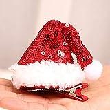 gao para Navidad Adornos para El Cabello Accesorios para El Cabello De Mascotas para La Decoración De La Fiesta De Navidad Disfraces De Fiesta De Año