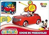 IMC Toys - Coche Mickey RC Preescolar Pilas Figura Extraible 43-180062