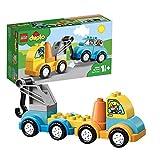 LEGO DUPLO My first - Mi Primer Camión Grúa, Juguete de Construcción Educativo de 1 a 2 Años (10883)