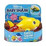ZURU ROBO ALIVE JUNIOR- Battery-Powered Baby Shark - Juguete para baño para Nadar y Cantar a batería, por ZURU, Colores Surtidos (25282A)