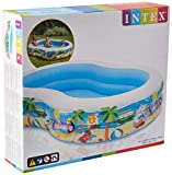 Intex 56490NP - Piscina hinchable rectangular 262 x 160 x 46 cm, 640 litros