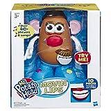 Mr Potato Head- Playskool Mr Patata Cabeza Movin' Labios Electrónico Interactivo Hablar Juguete para Niños a Partir de 3 años, Multicolor (Hasbro E4763802)
