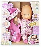 Nenuco-Baby Talks,Nos vestimos! Muñeca con Sonidos para niñas y niños a Partir de 1 año(Famosa 700016282)