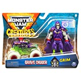 Monster Jam Die Cast 1:64 con figura modelos aleatorios (Bizak 61925879)