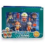 Pinypon Action - Set de 5 Figuras Series 2 con Accesorios para niños y niñas de 4 a 8 años (Famosa 700015265)