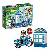 LEGO DUPLO Town - Moto de Policía, Vehículo de juguete de construcción y aventuras (10900)