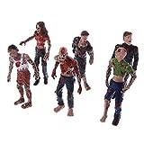 smallJUN 6 Unids Walking Cadáveres Modelo Terror Zombies Niños Niños Figura de Acción Juguetes Muñecas