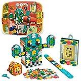 LEGO 41937 DOTS Multipack: Sensaciones de Verano, Set de Manualidades: Marco de Fotos, Pulsera, Portalápices, Bag Tag, Accesorios Escolares DIY