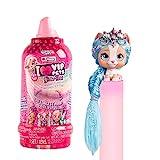 VIP Pets Glitter Twist muñeca perrita sorpresa coleccionable con pelo largo para peinar 30cm, con accesorios y purpurina regalo, juguetes, muñecas pequeñas para niña y niño 3-9 años
