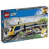 LEGO60197CityTrainsTrendepasajeros,SetdeConstrucciónconMotoraControlRemotoporBluetoothconMiniFiguras
