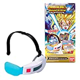 Bandai Dragon Ball Z Saiyan Scouter W/ Sound One Size Fits All- Blue Lens