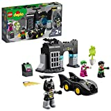 DUPLO Super Heroes DUPLO DC Comics BatmanBatcuevaconBatmóvilyJOKERCoche de Juguete para Niños Pequeñosa partir de2Años, multicolor (Lego ES 10919)
