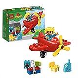 LEGO DUPLO Town - Avión, Juguete imaginativo para construir y de aventuras aéreas (10908)